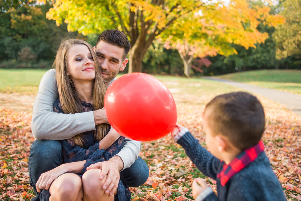 Fall Family Session in Prospect Park, Brooklyn