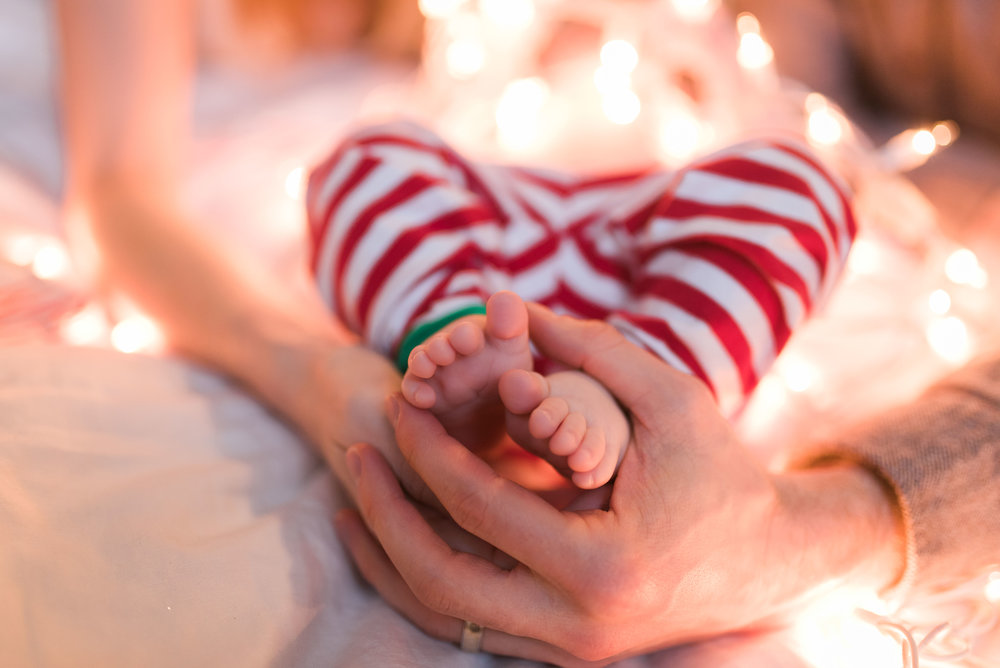 Newborn Family Session in Park Slope