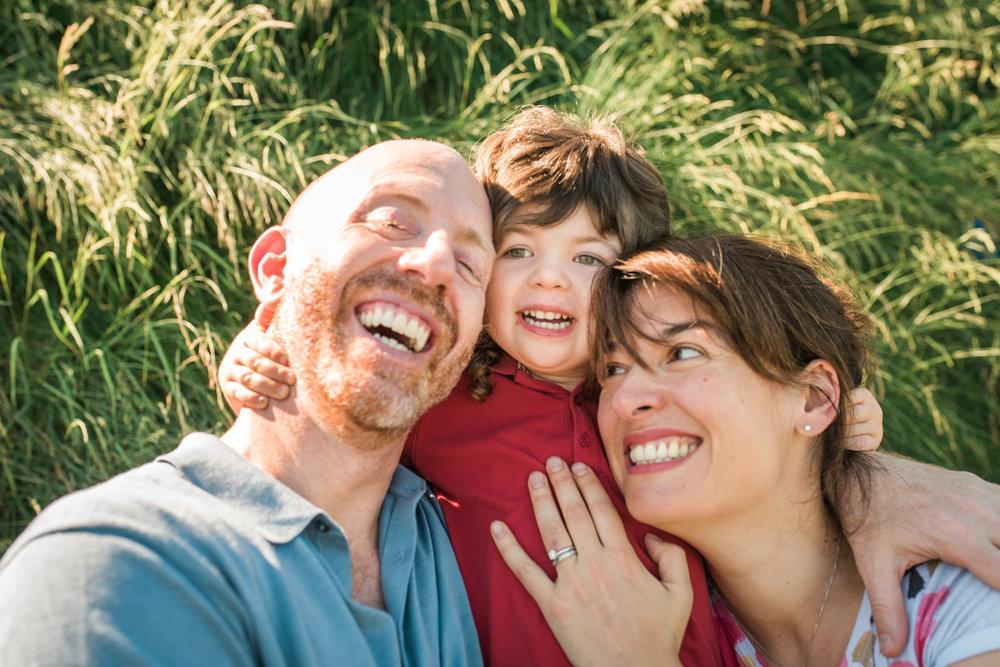 Brooklyn Bridge Family Photo Session