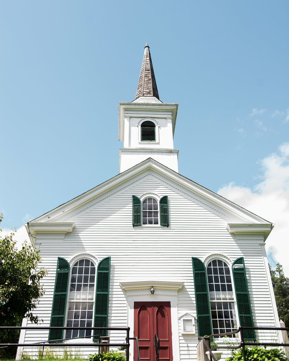 Waterloo village church