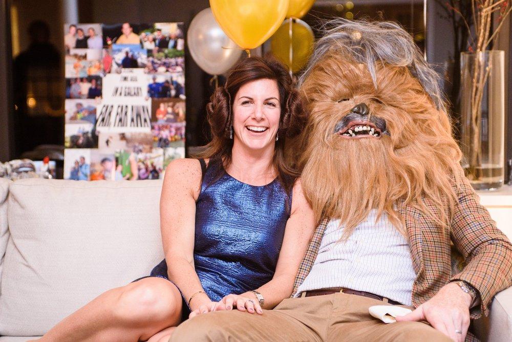 Star wars themed birthday in Manhattan