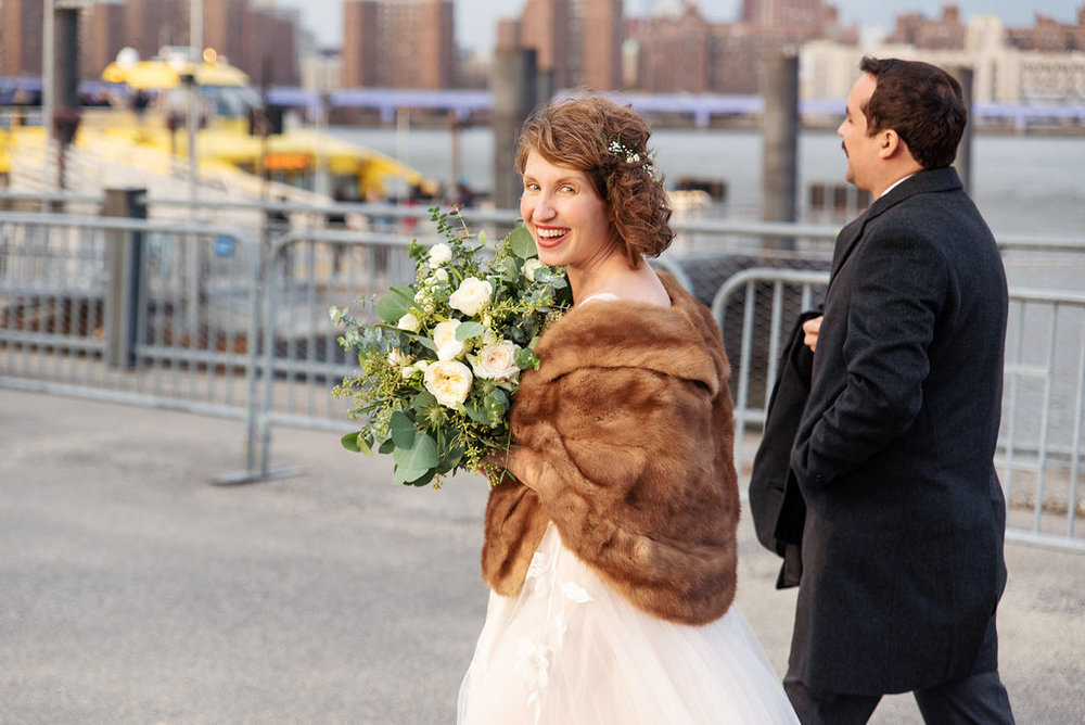 Allison Taylor and Andrew Dill Wedding at DUMBO and Roulette.