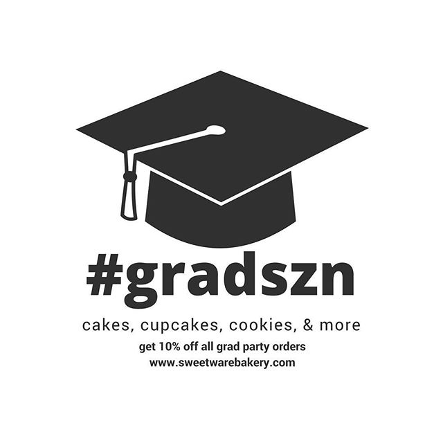 Got a grad party coming up? Place in order with us for all your dessert needs and get 10% off your order! We do cakes, cupcakes, cookies, pound cake, brownies and more! . . . #columbusbaker #kentbaker #baker #cupcakes #cake #akronbaker #akronfood #clevelandbaker #clevelandfood #theland #614 #330 #216 #bakery #smallbusiness #graduation #classof2018 #gradszn #grad🎓 #graduate #mamawemadeit