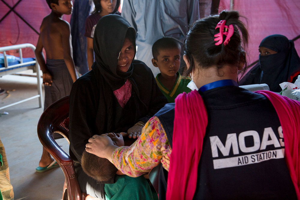 MOAS Shifts Operations to Aiding Rohingya