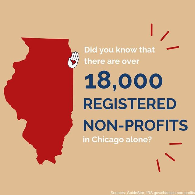 Check out how many Chicagoland nonprofits there are doing good in their neighborhoods! If you don't think there is a #volunteer opportunity out there for you, think again! #NationalVolunteerWeek #givingback #connectandcare