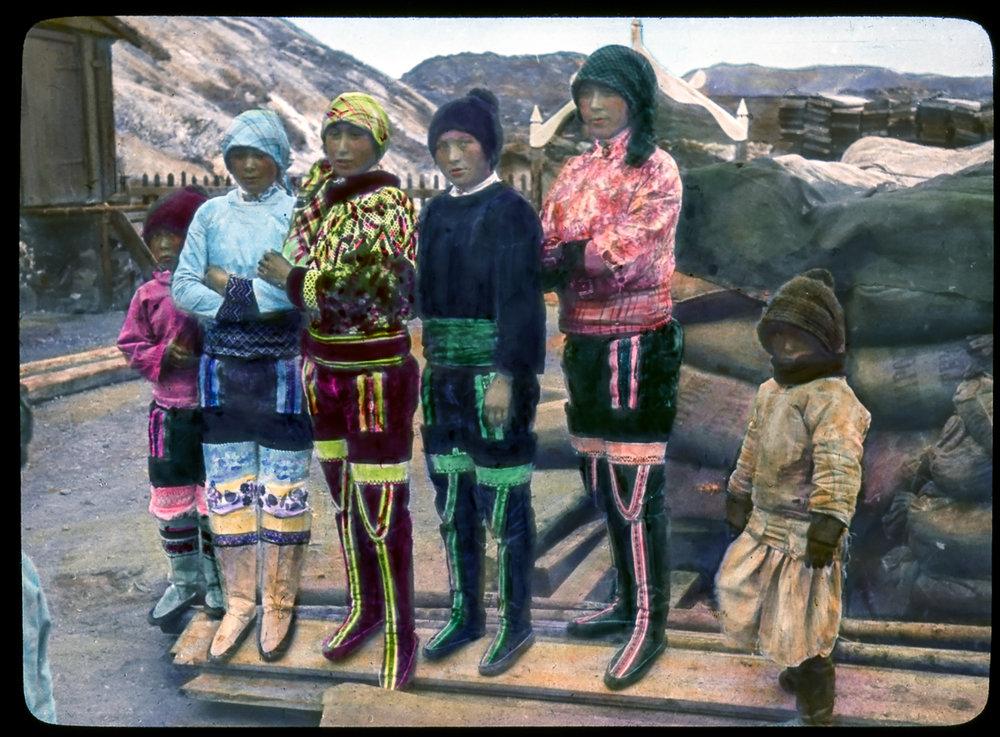 Colorful ladies, Sisimiut