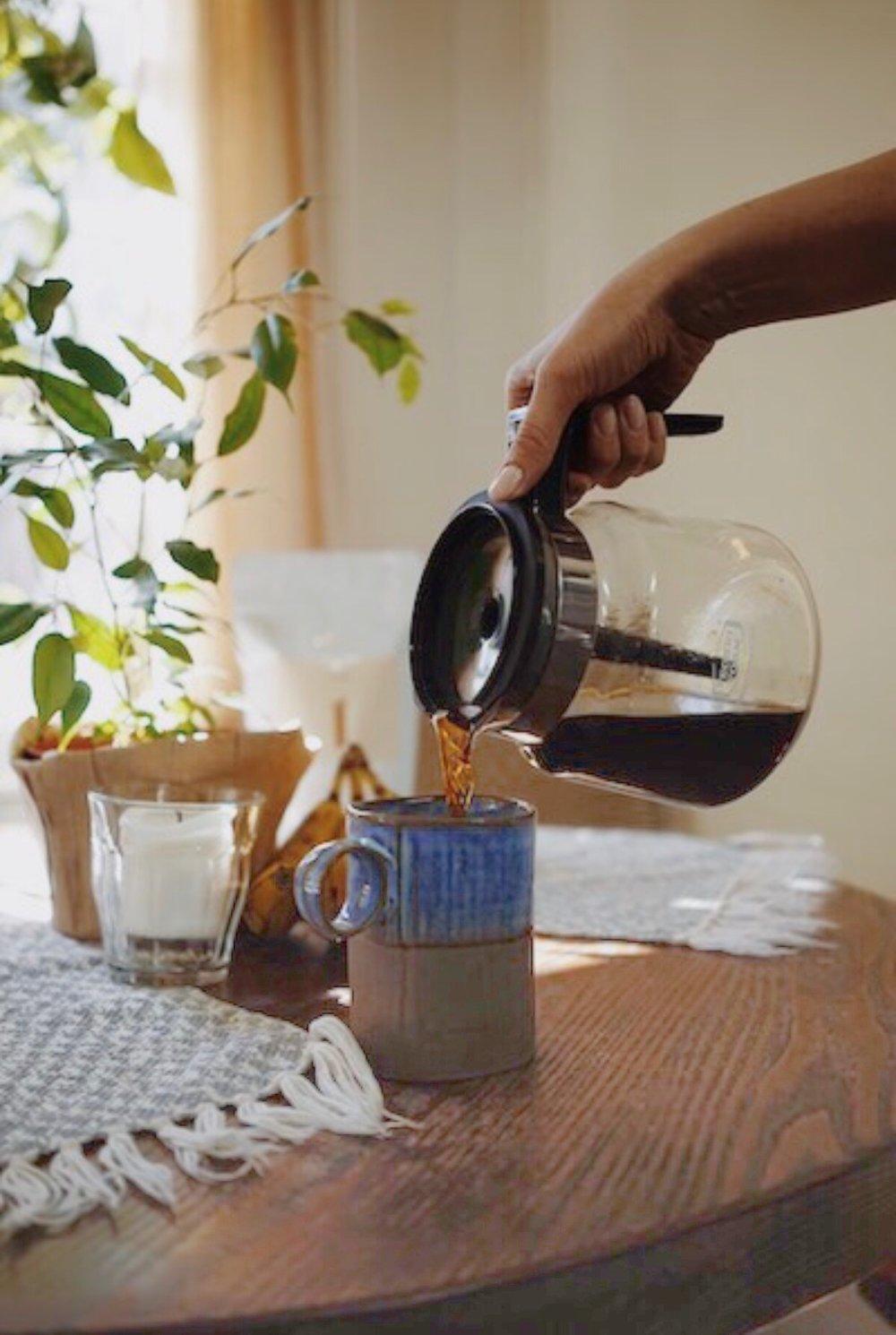 Life happens over coffee. -