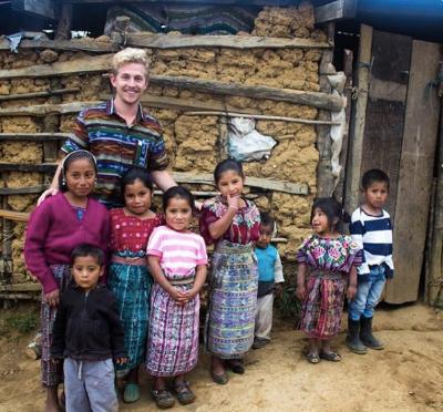 Brian in Guatemala.