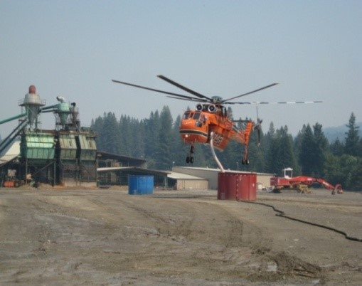 Mobile Mixing Plant Helicopter Dip Tank