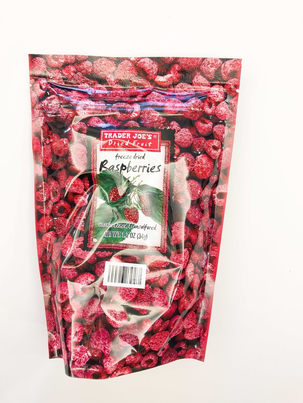 these are so great. I always buy multiple bags of these when I'm at TJs, or ask other people to buy them for me. Throw them in a trail mix, yogurt, or eat them as is. Baking with them is a dream because they perfectly capture the raspberry flavour without adding a bunch of water (think: pulse them into a powder and mix into a buttercream…yum).