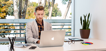 Window Office - A private office space with a view, available in all our centres.