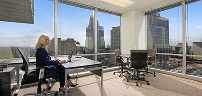 Office Suite - An office and meeting room combined; typically contains two desks and a meeting table.