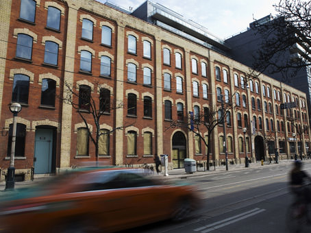 king west exterior view