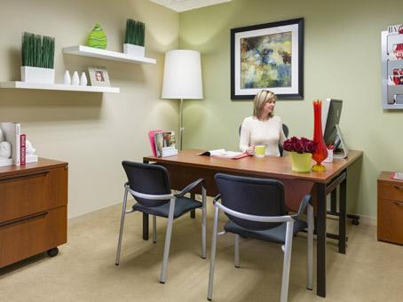 bright internal office