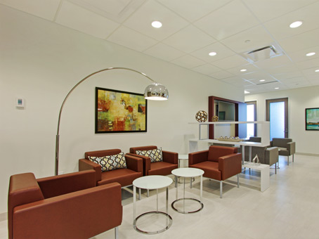 waiting area and business lounge