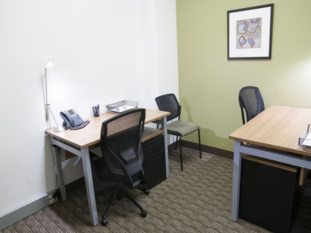 small office setup for 2 people
