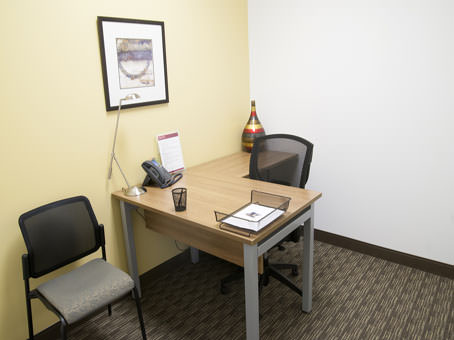 small internal office for one person