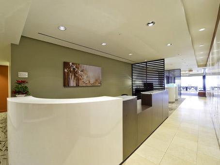 reception desk and main hallway