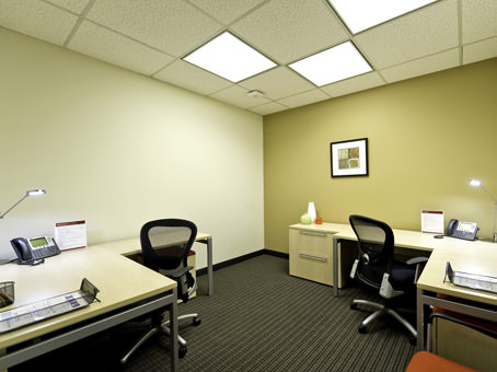internal office for two people