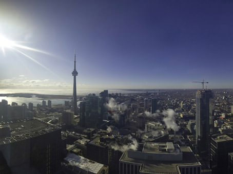 best view of the city from the 56th floor