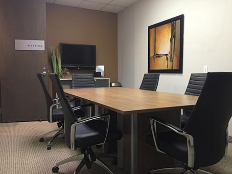 simple meeting room