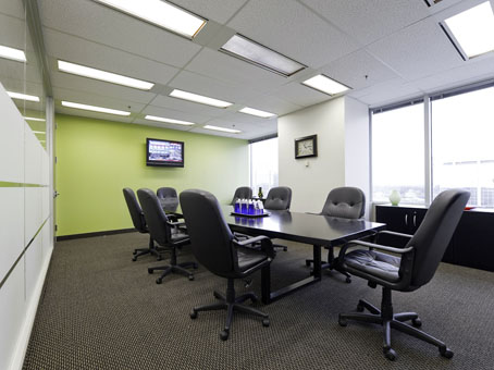 clear and neat meeting room