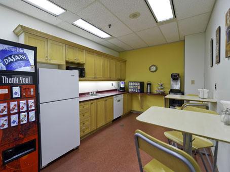 nice yellow wall pantry