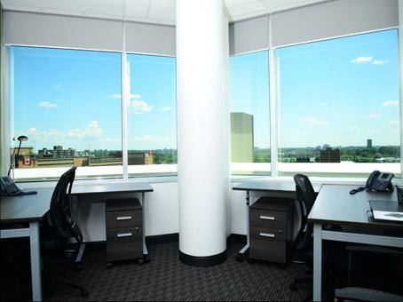 wide full glass window view