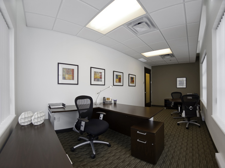 neat and tidy look office
