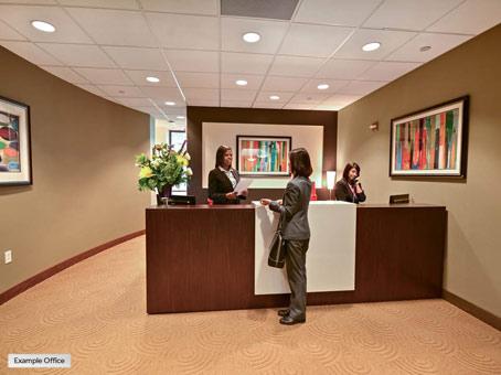 a reception look