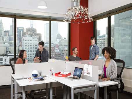 white revesible table office