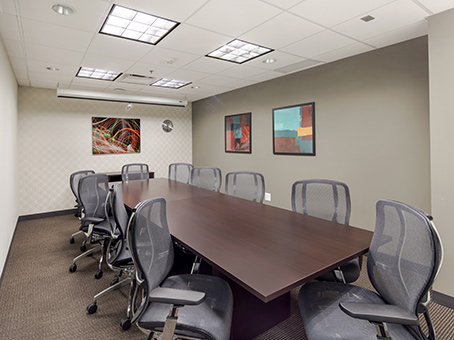 meeting room with painting