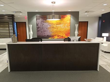 nice reception view