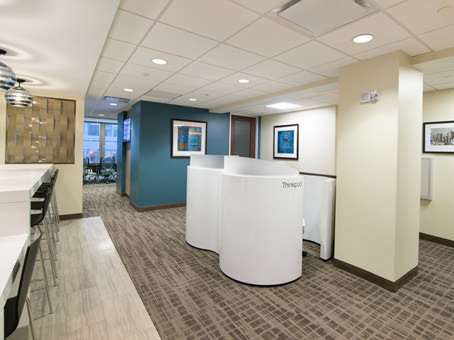 white cubicle