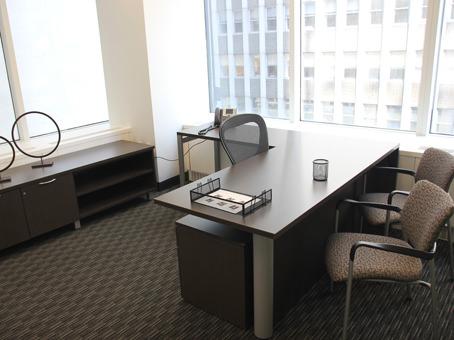 elegant executive office