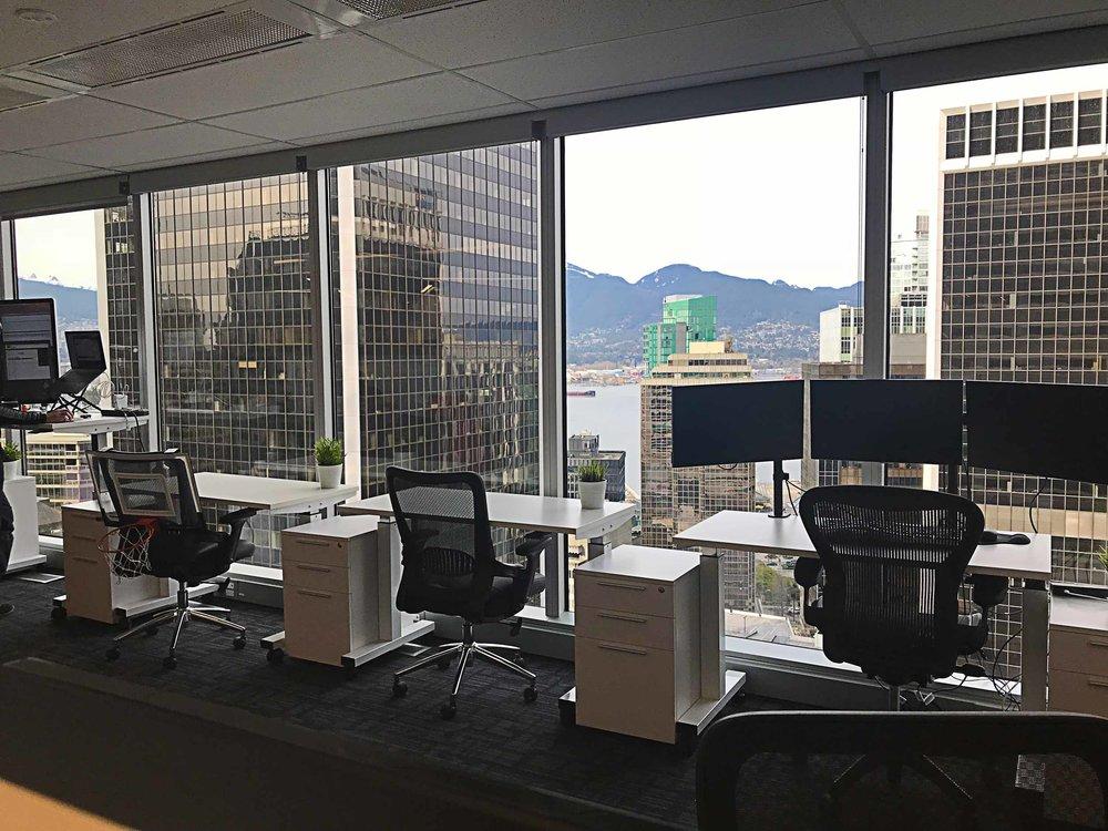dedicated coworking desks