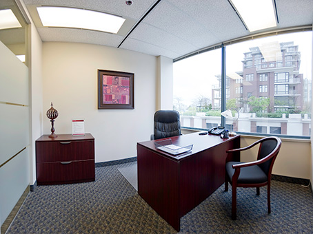 Furnished Suites From $350 - Priced per person/monthVirtual offices now availablePlease note, price estimates of this office may vary by several factors including your move-in date, size of space you need, and length of rental term (e.g. monthly or 1 year)