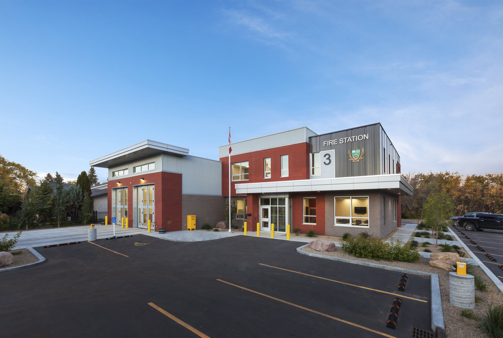 Fire Station #3 - Saskatoon, SK