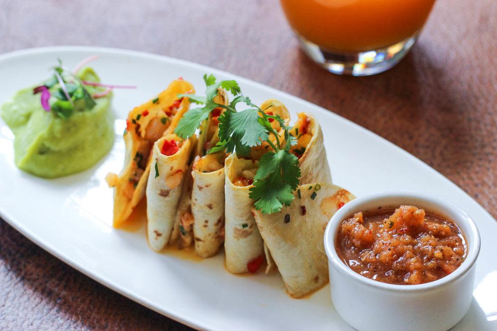 Served at Chef Sandoval's restaurants  Maya  in New York &  Tamayo  in Denver