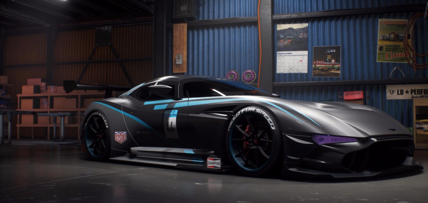 Need For Speed Payback Build Of The Week 5 Aston Martin Vulcan The Nobeds