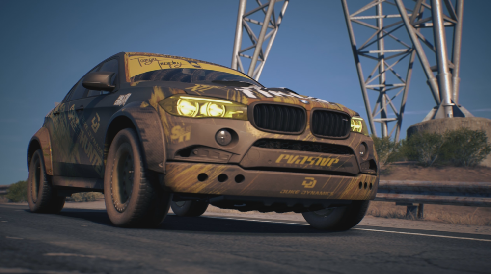 Bmw X6 M Goes Off Roading In New Need For Speed Payback Gameplay