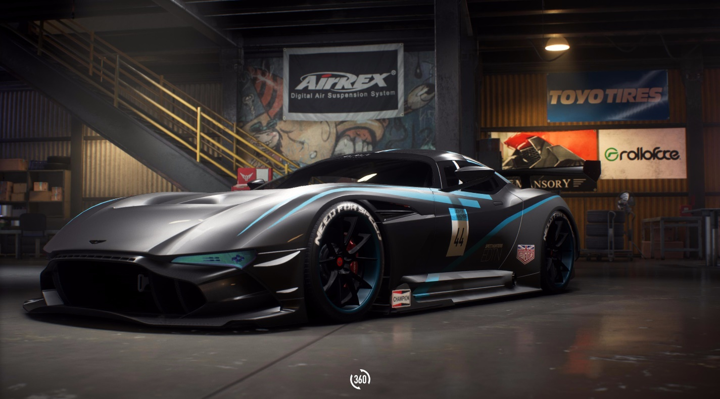need for speed payback build of the week 5 aston martin vulcan the nobeds. Black Bedroom Furniture Sets. Home Design Ideas