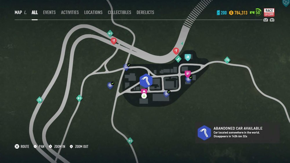 Need For Speed Payback Abandoned Cars Location Guide Bmw