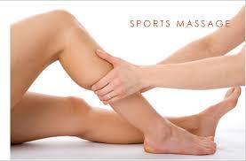 Sports massage - 30 mins £20.50