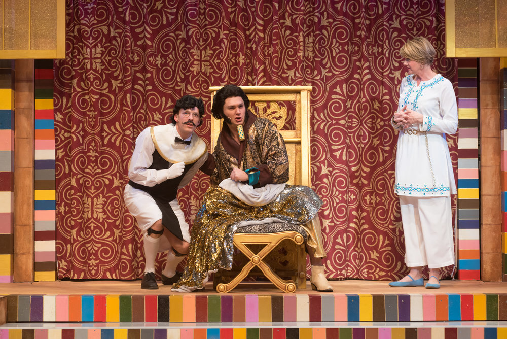 Butler, Joseph and the Amazing Technicolor Dreamcoat  Arvada Center