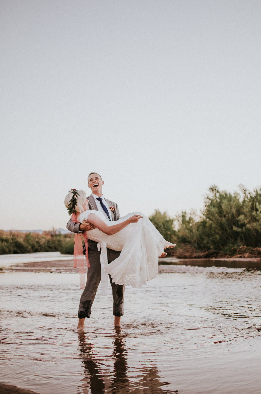 Virgin River Elopement | Utah Elopement and Wedding Photographer | Simply Amor Photography