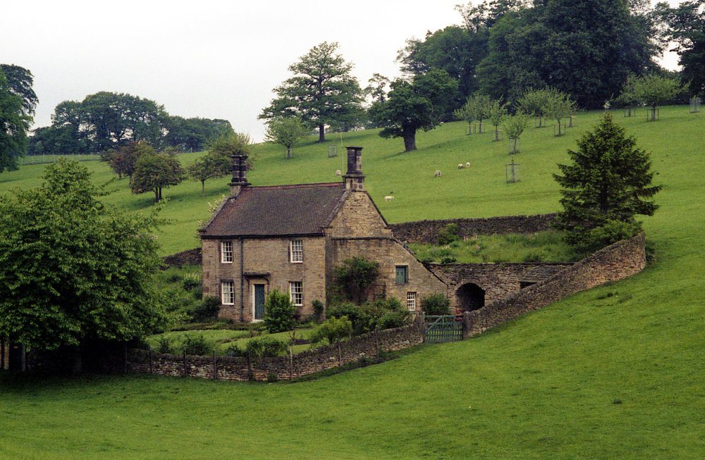 English countryside house
