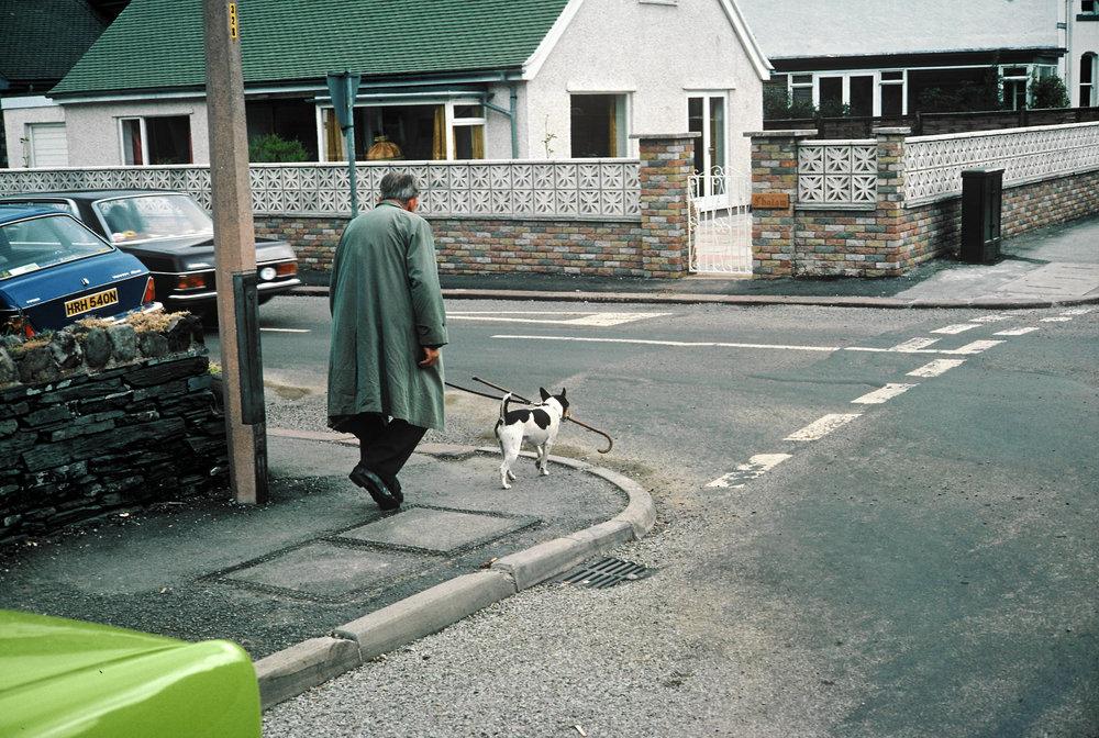 Englishman, dog and stick