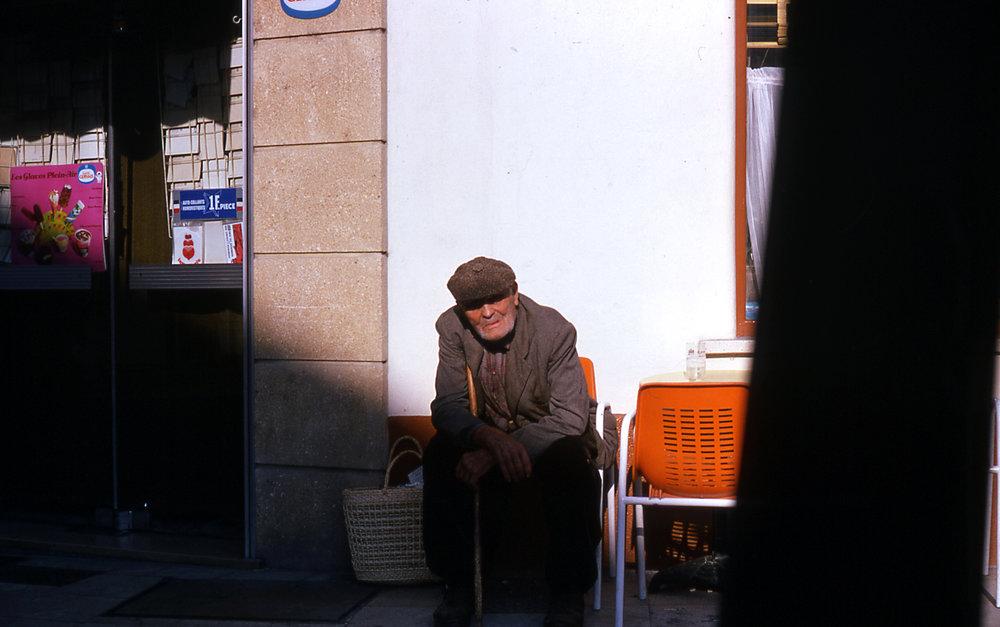 Old man on Paris street