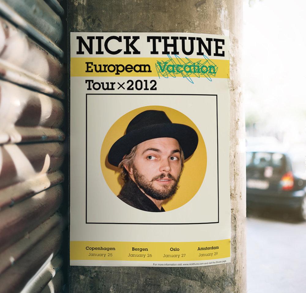 Nick Thune: European Tour